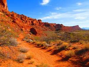 snow canyon state park image 1